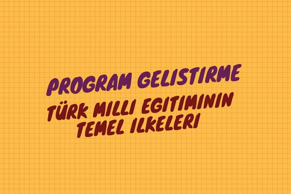 Türk Milli Eğitiminin Temel Ilkeleri